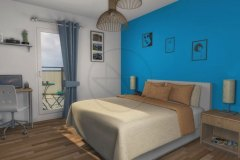 Appartement T2 chambre