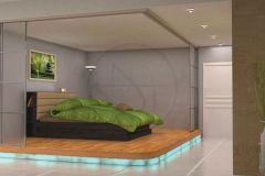 Scène 3D chambre
